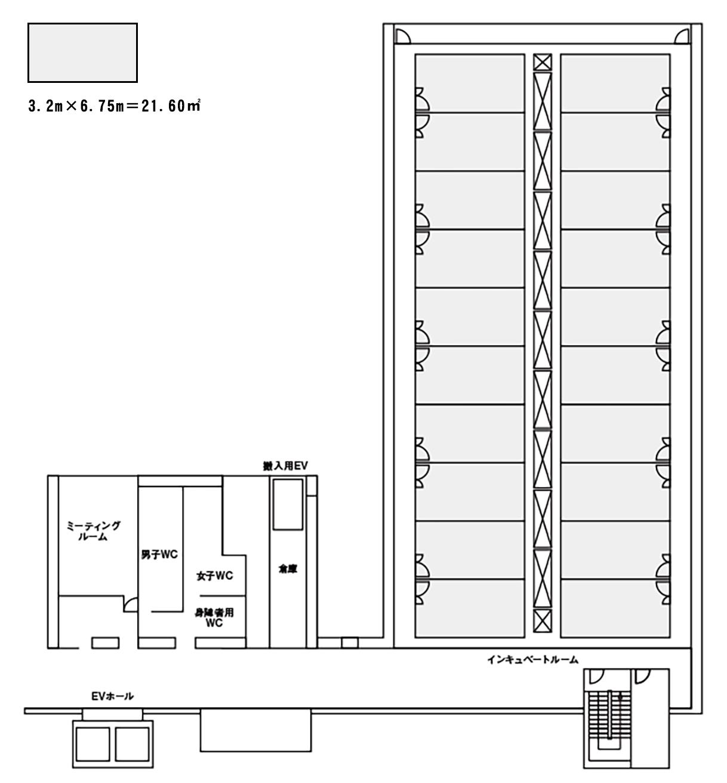 ドリームコア平面図
