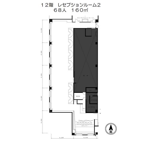レセプションルーム2平面図