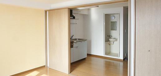 単身用住居内装画像1